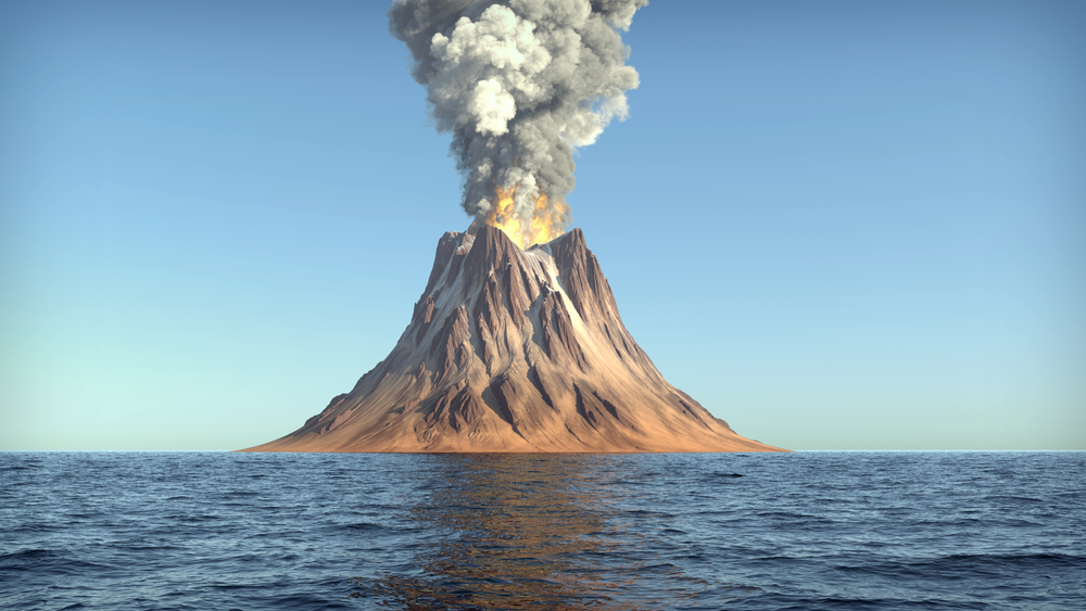 [Q] Where is the world's biggest land volcano?