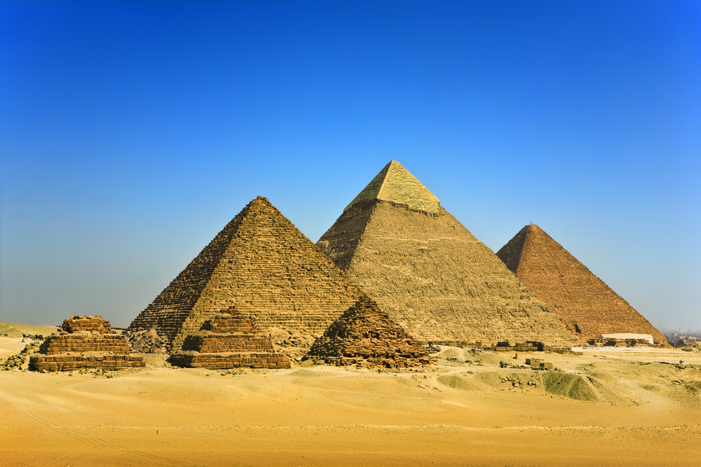 [Q] What is the oldest Egyptian pyramid?